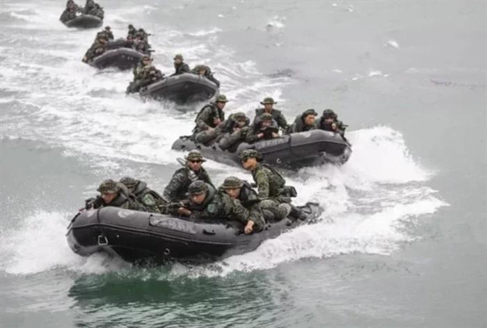 台媒:台海军证实美国海军陆战队抵台